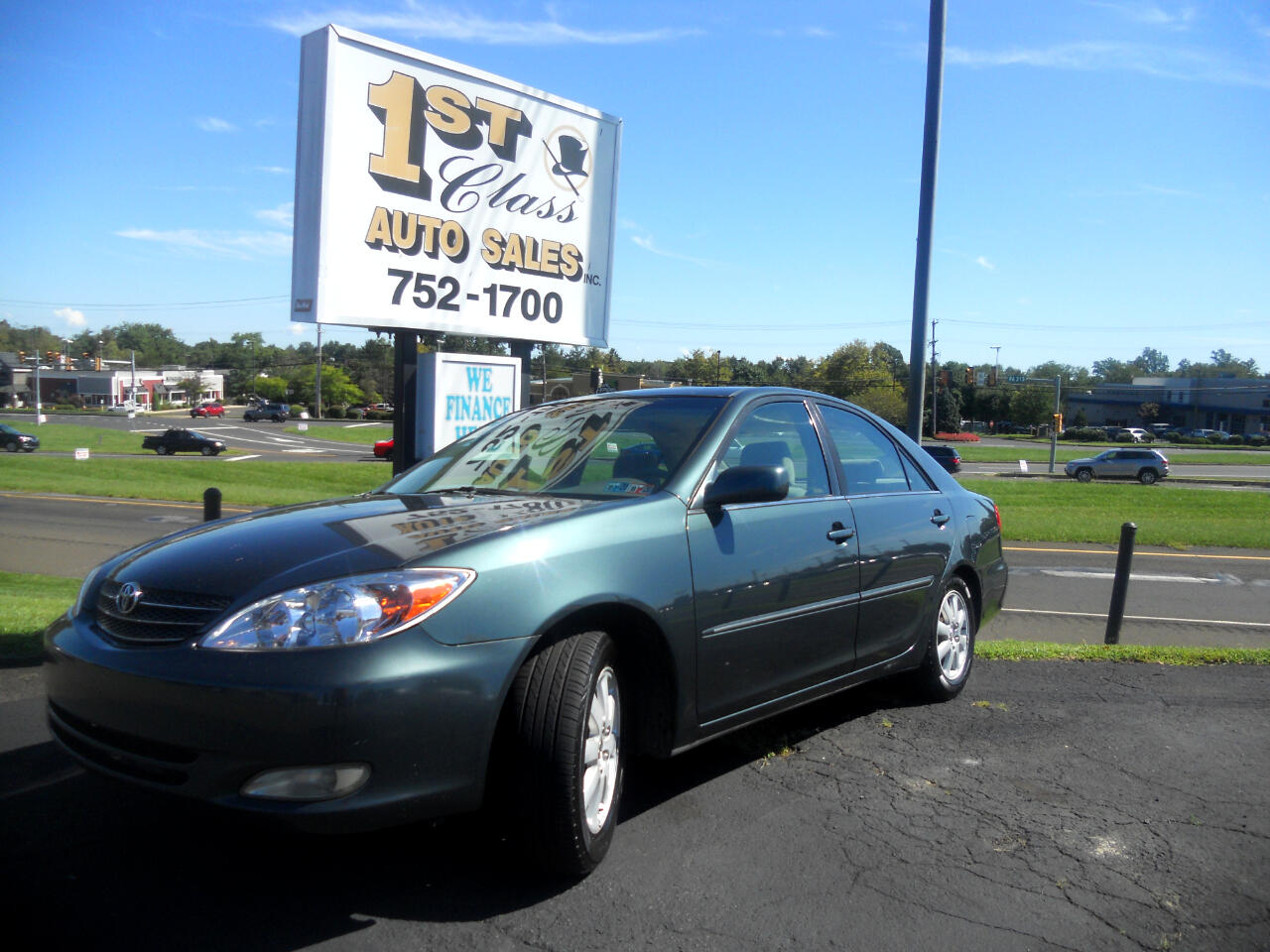 used 2003 toyota camry xle for sale in langhorne pa 19047 1st class auto sales langhorne pa 19047 1st class auto sales
