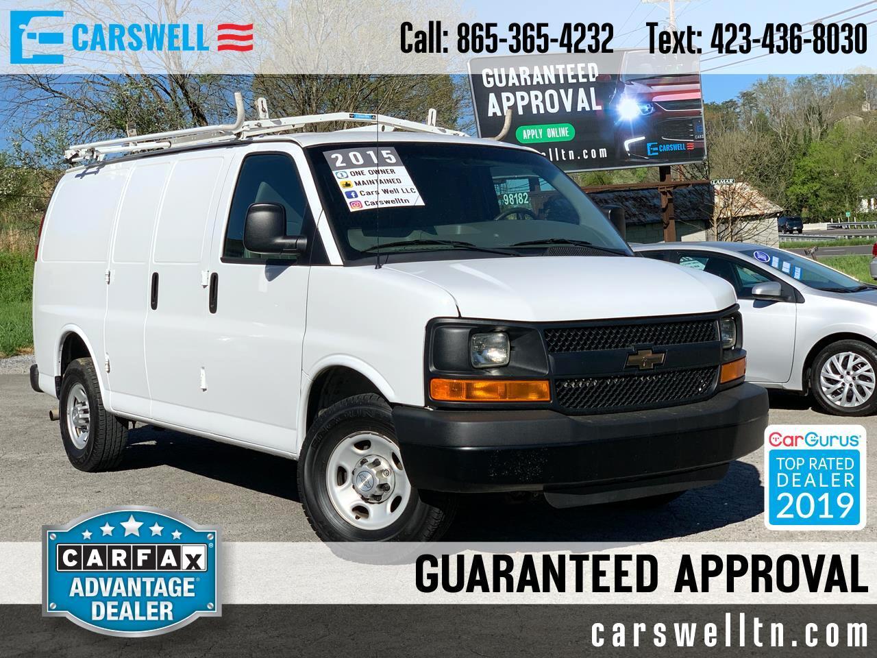 """2015 Chevrolet Express Cargo Van RWD 2500 135"""""""