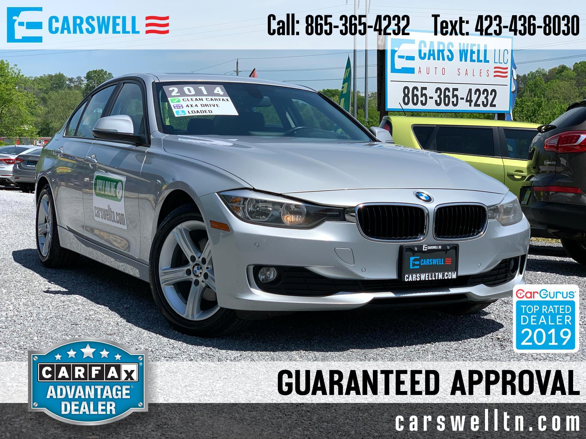 2014 BMW 3 Series 4dr Sdn 320i xDrive AWD