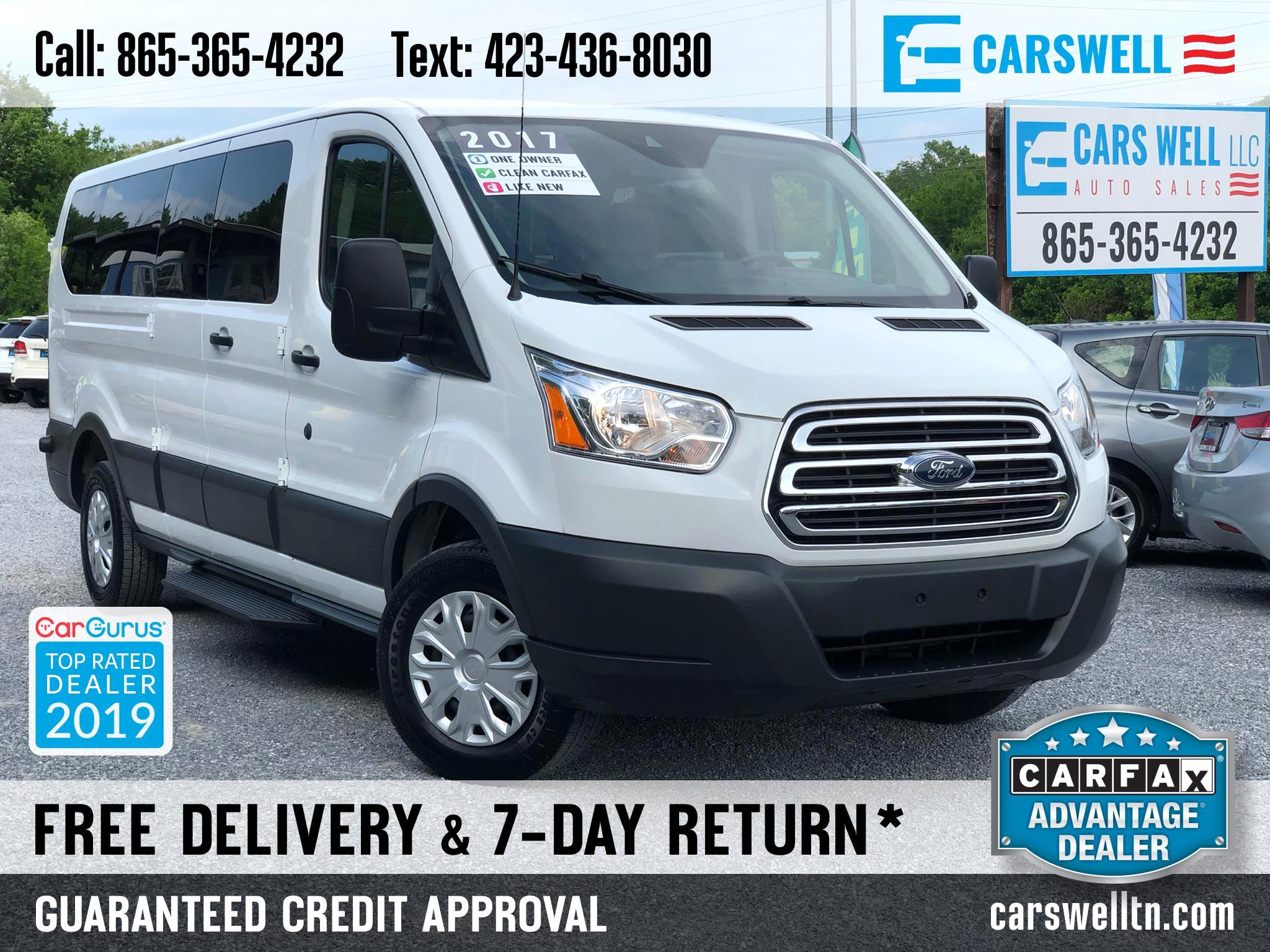 "2017 Ford Transit Passenger Wagon T-350 148"" Low Roof XL Swing-Out RH Dr"