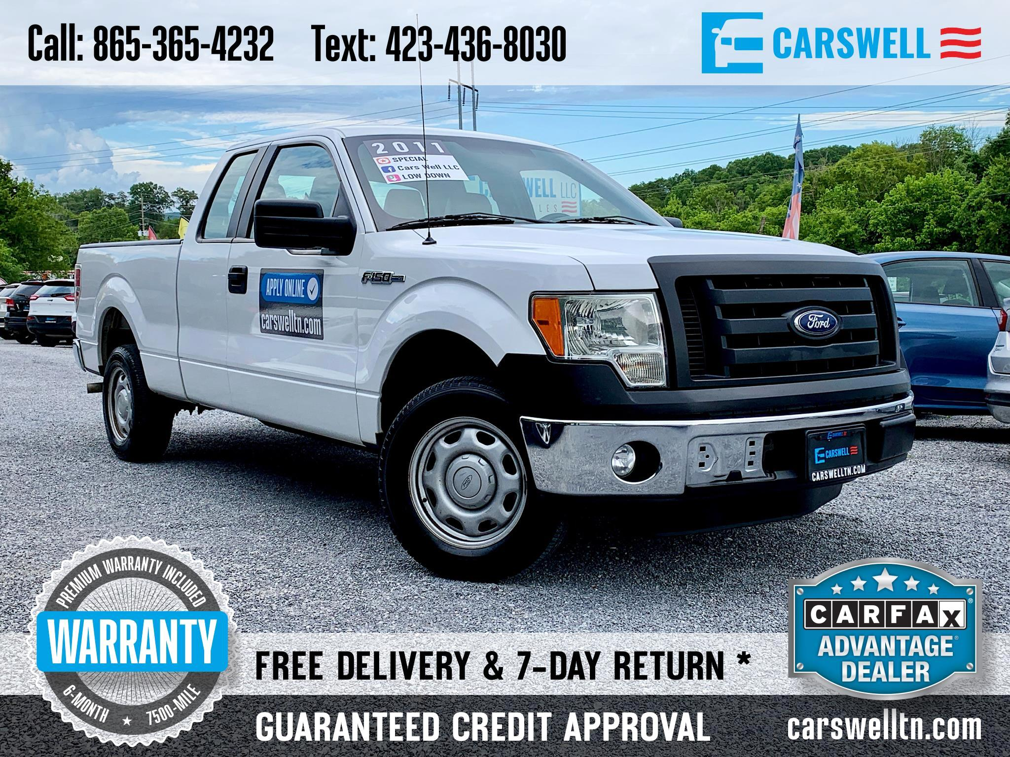 2011 Ford F-150 2WD SuperCab 145