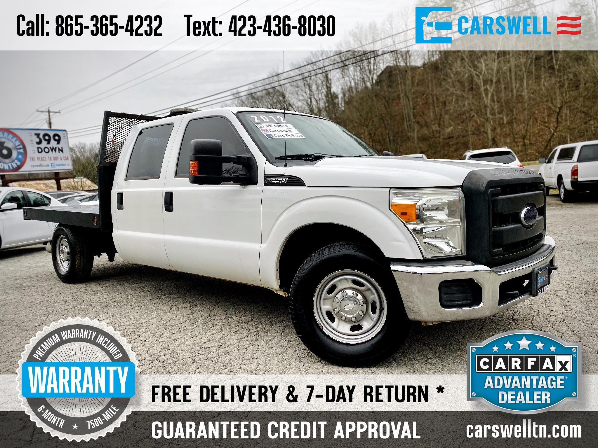 "2012 Ford Super Duty F-250 SRW 2WD Crew Cab 156"" XL"