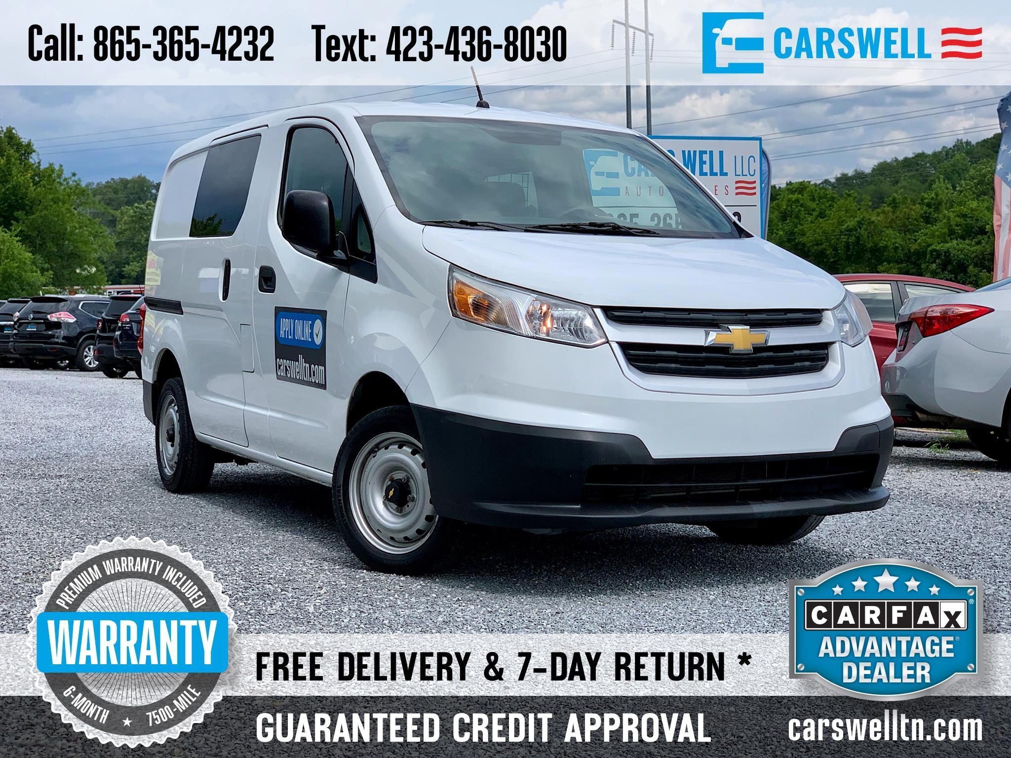 2016 Chevrolet City Express Cargo Van FWD 115