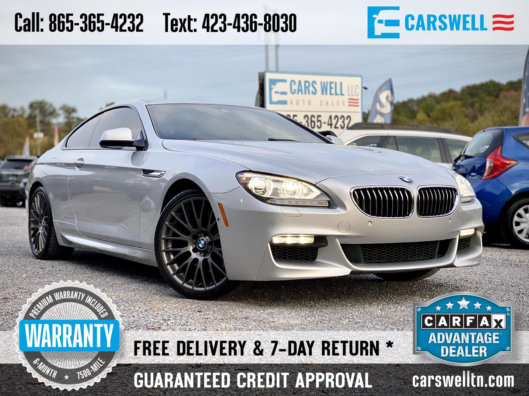 2013 BMW 6 Series 2dr Cpe 640i