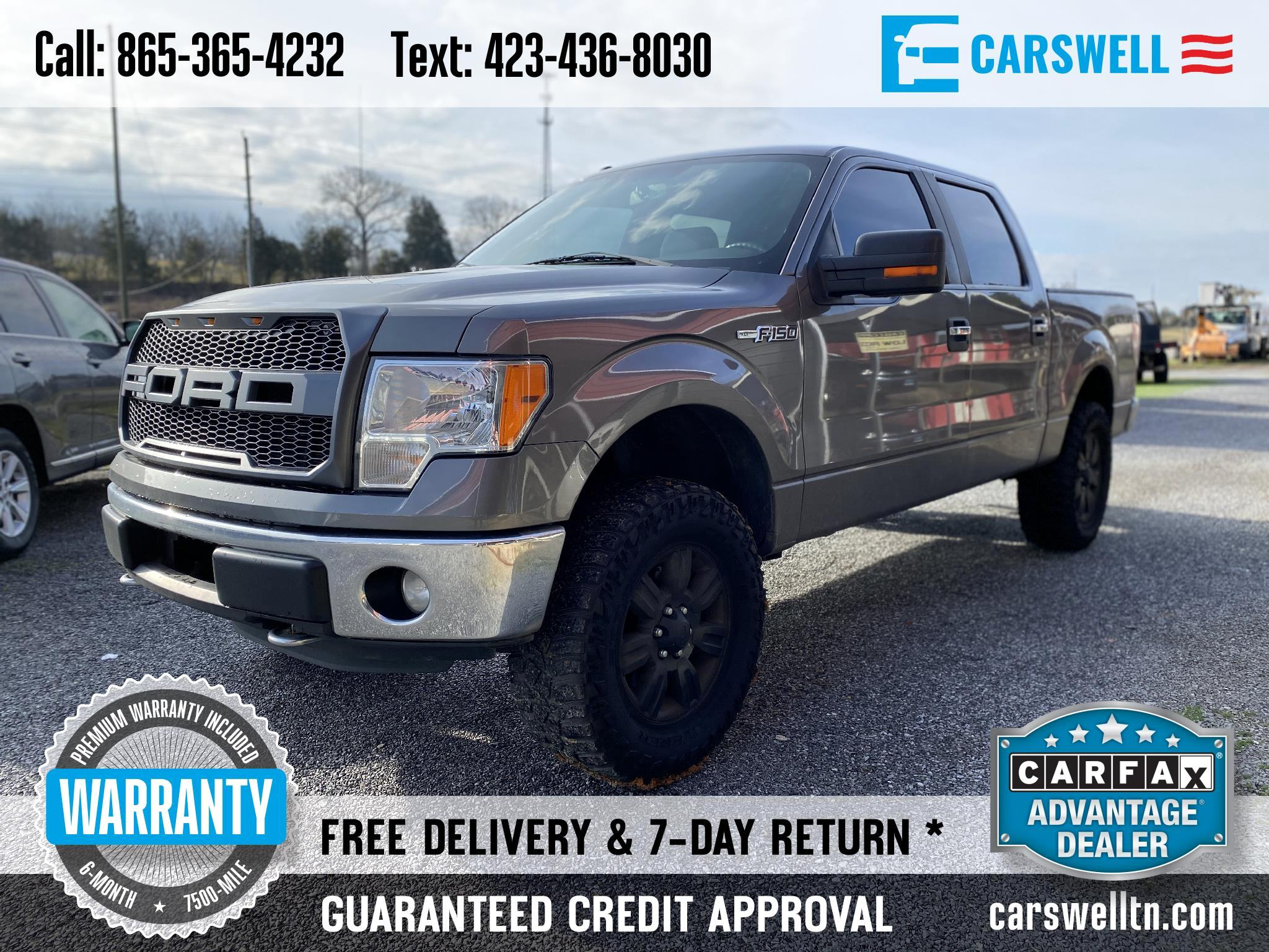 "2012 Ford F-150 4WD SuperCrew 145"" XLT"