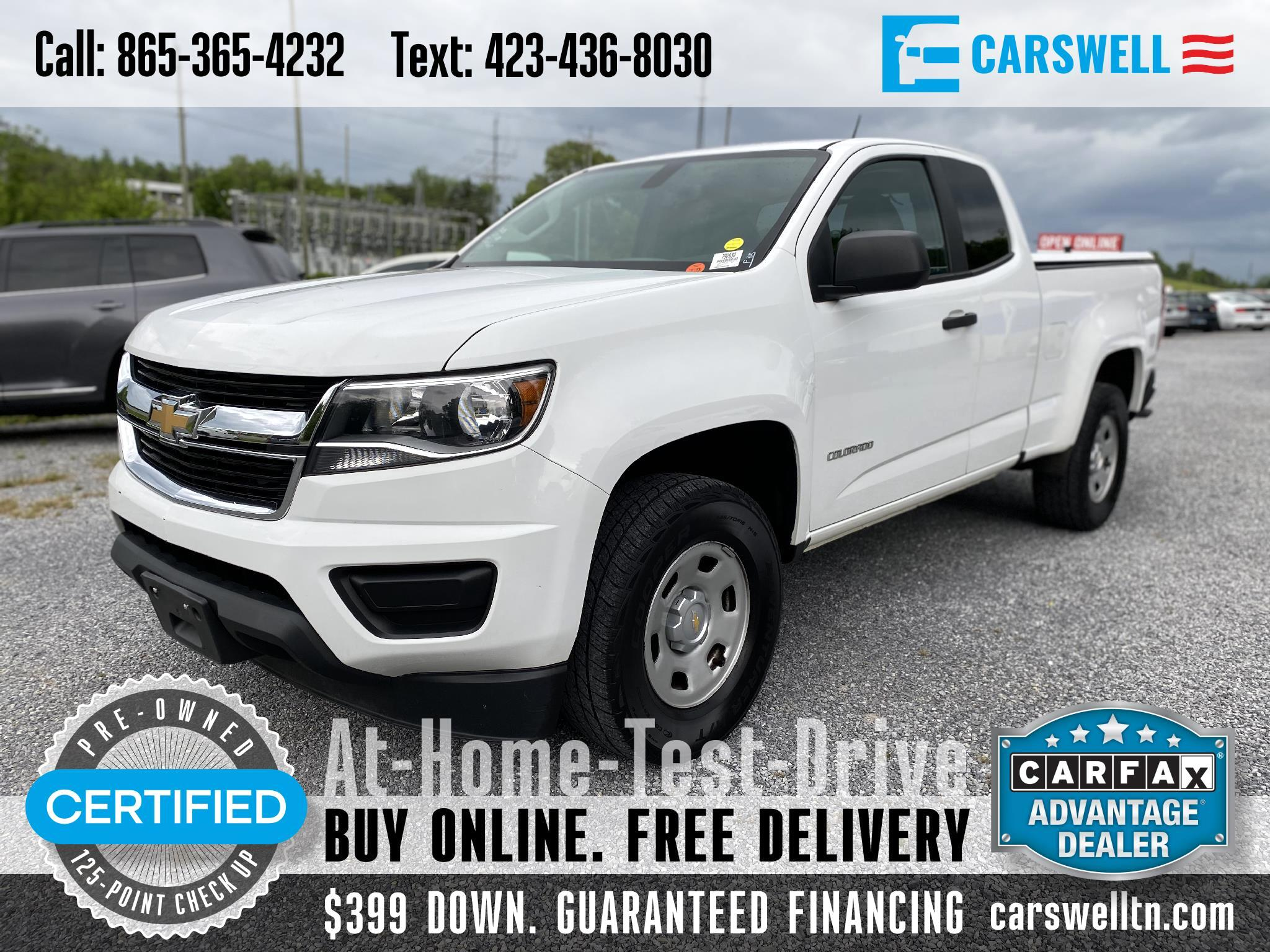"Chevrolet Colorado 2WD Ext Cab 128.3"" WT 2017"