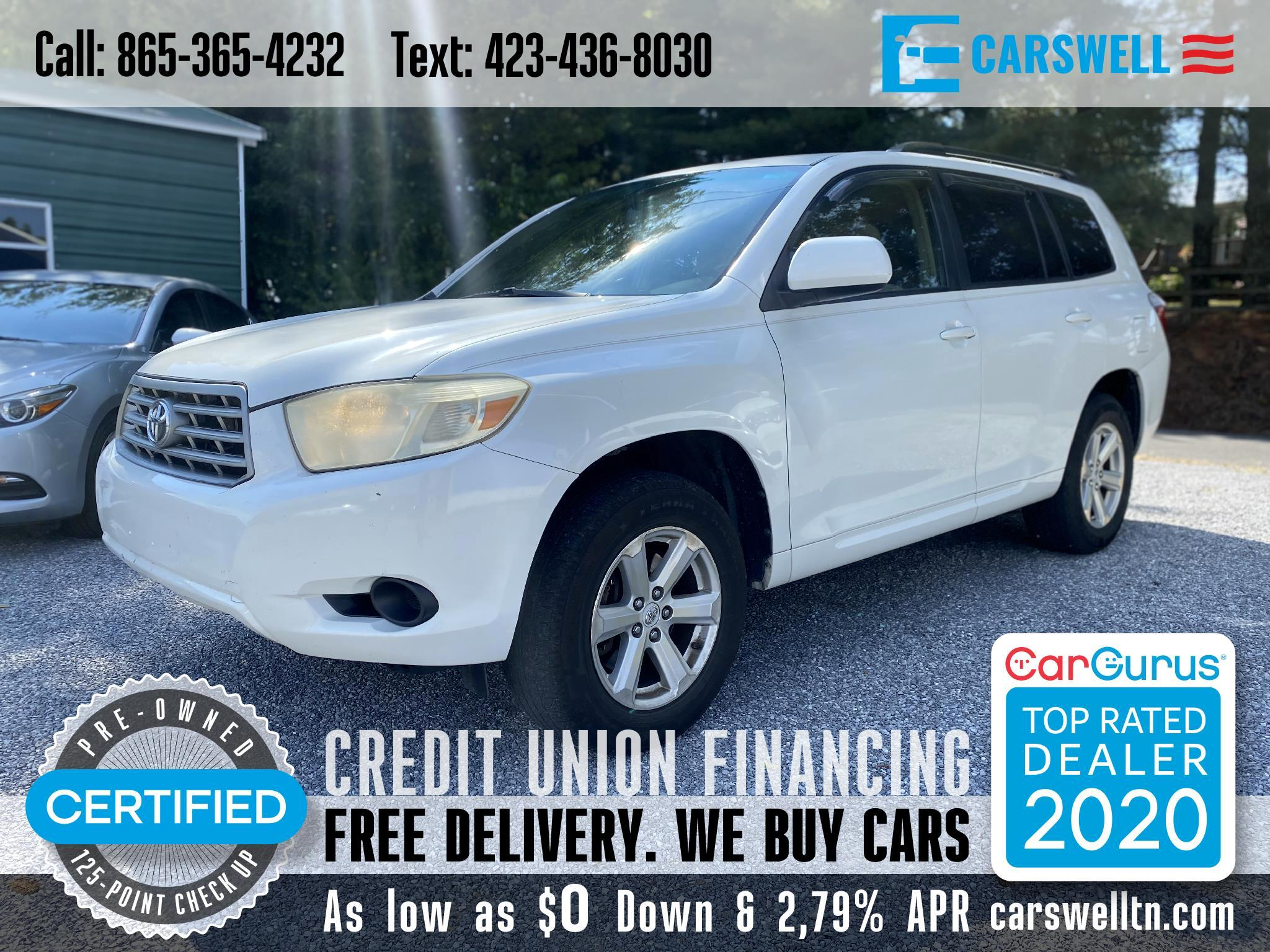 Toyota Highlander FWD 4dr Base (Natl) 2008