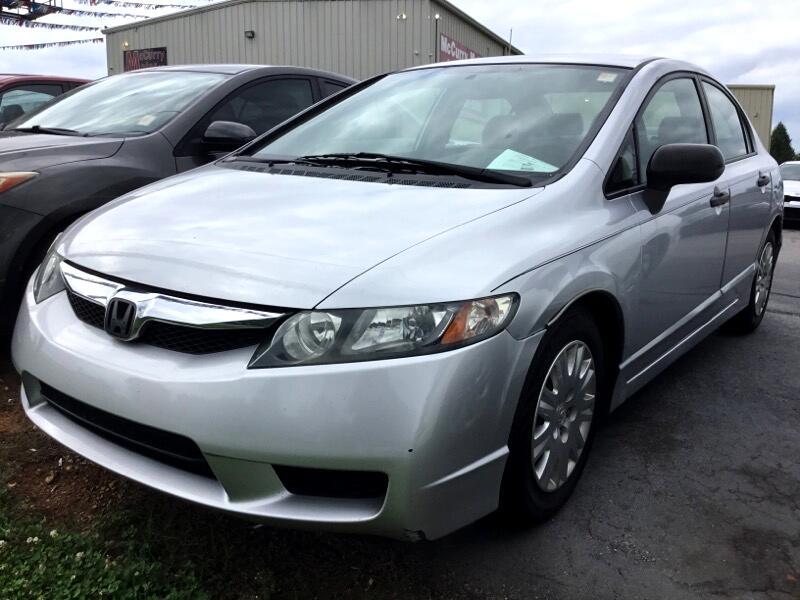 Honda Civic DX Sedan 5-Speed AT 2009