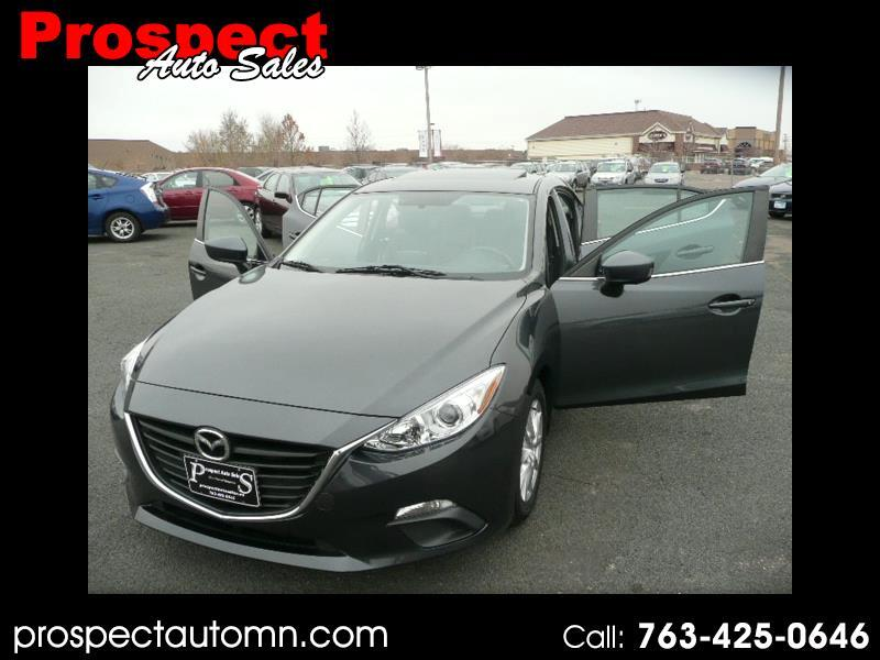 Mazda MAZDA3 I Grand Touring AT 4-Door 2014
