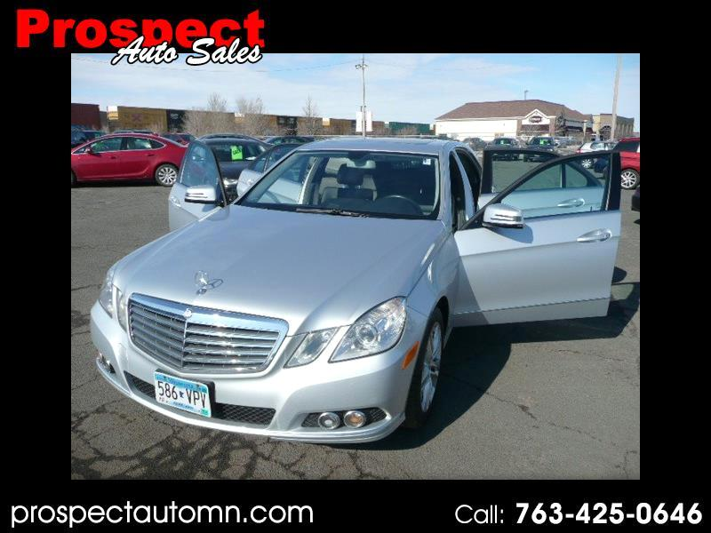 Mercedes-Benz E-Class E350 Sedan 4MATIC 2010