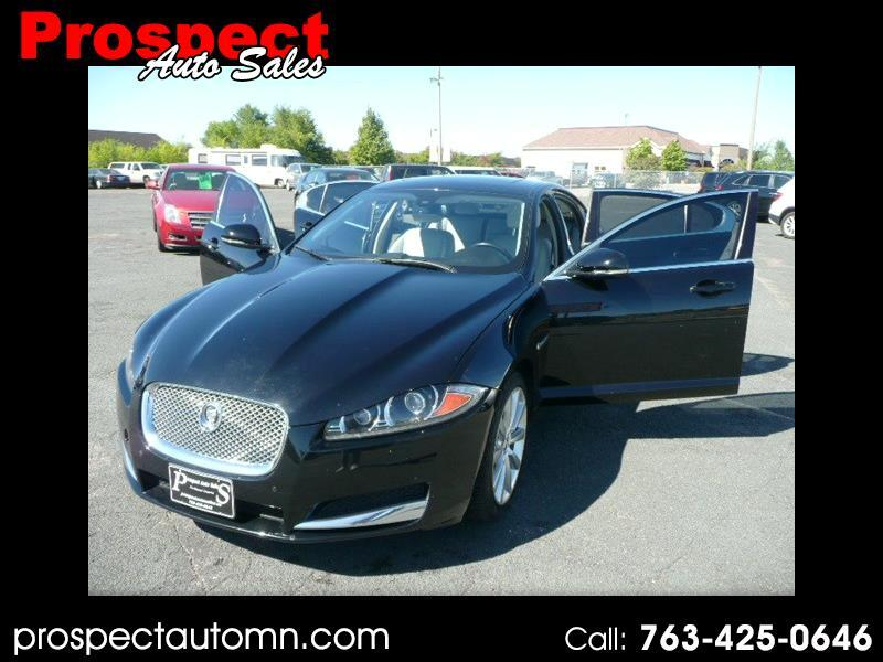 Jaguar XF-Series XF 3.0L V6 SC AWD 2013