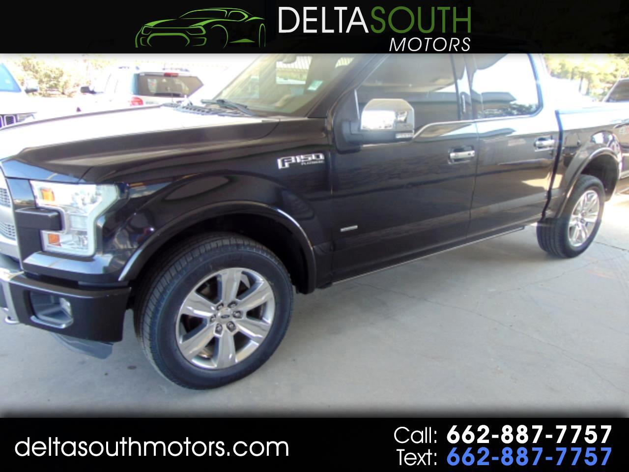2015 Ford F-150 Platinum 4WD SuperCrew 5.5' Box