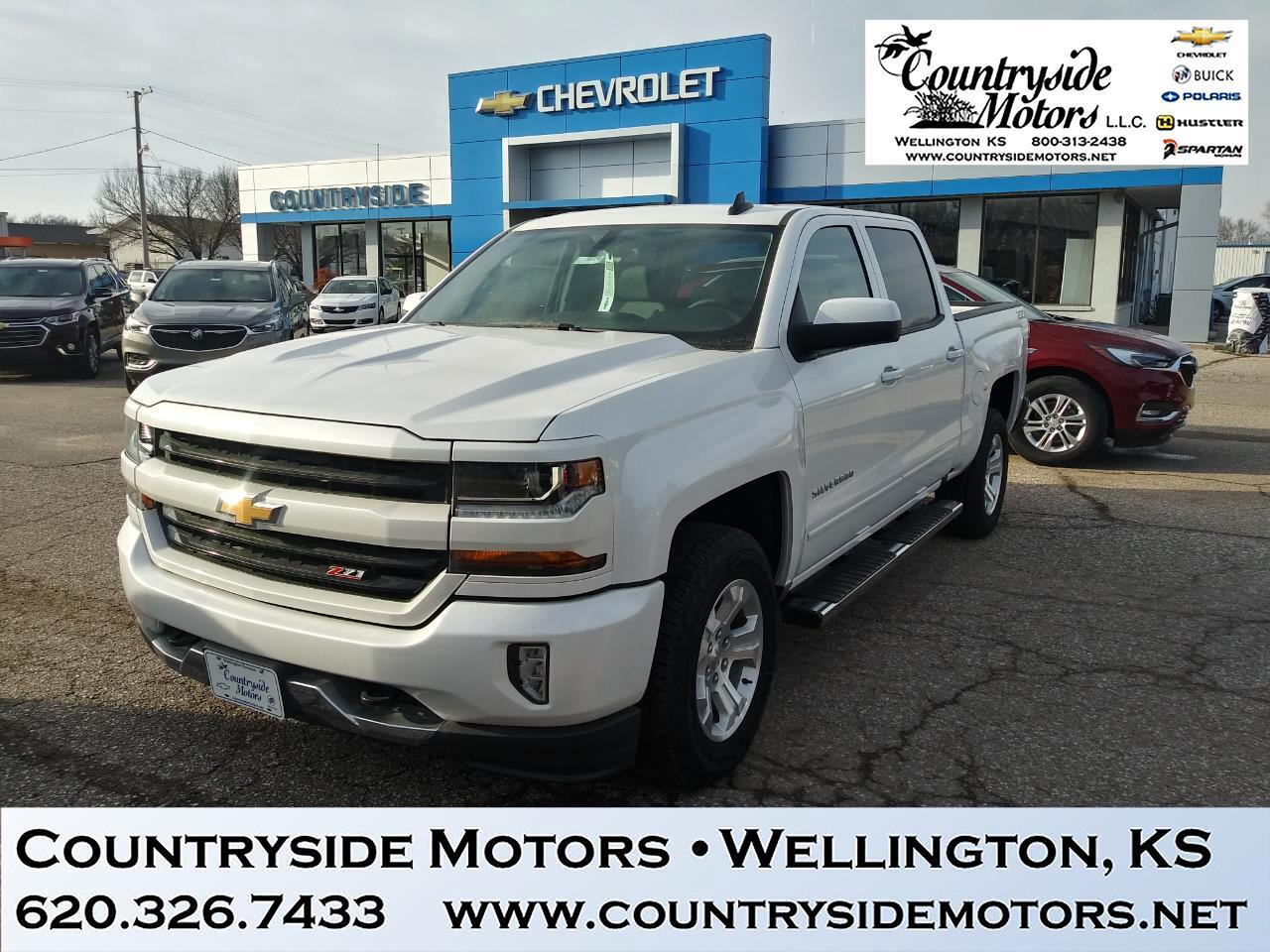 2018 Chevrolet Silverado 1500 Z71 4WD CREW CAB LT ALL STAR EDITION