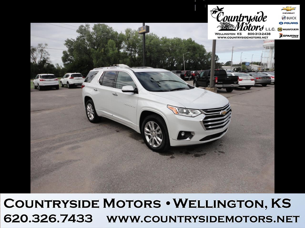 2019 Chevrolet Traverse AWD 4DR HIGH COUNTRY W/2L