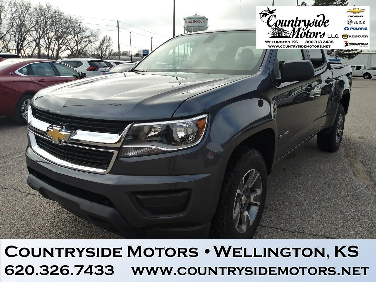 2017 Chevrolet Colorado 4WD WORK TRUCK
