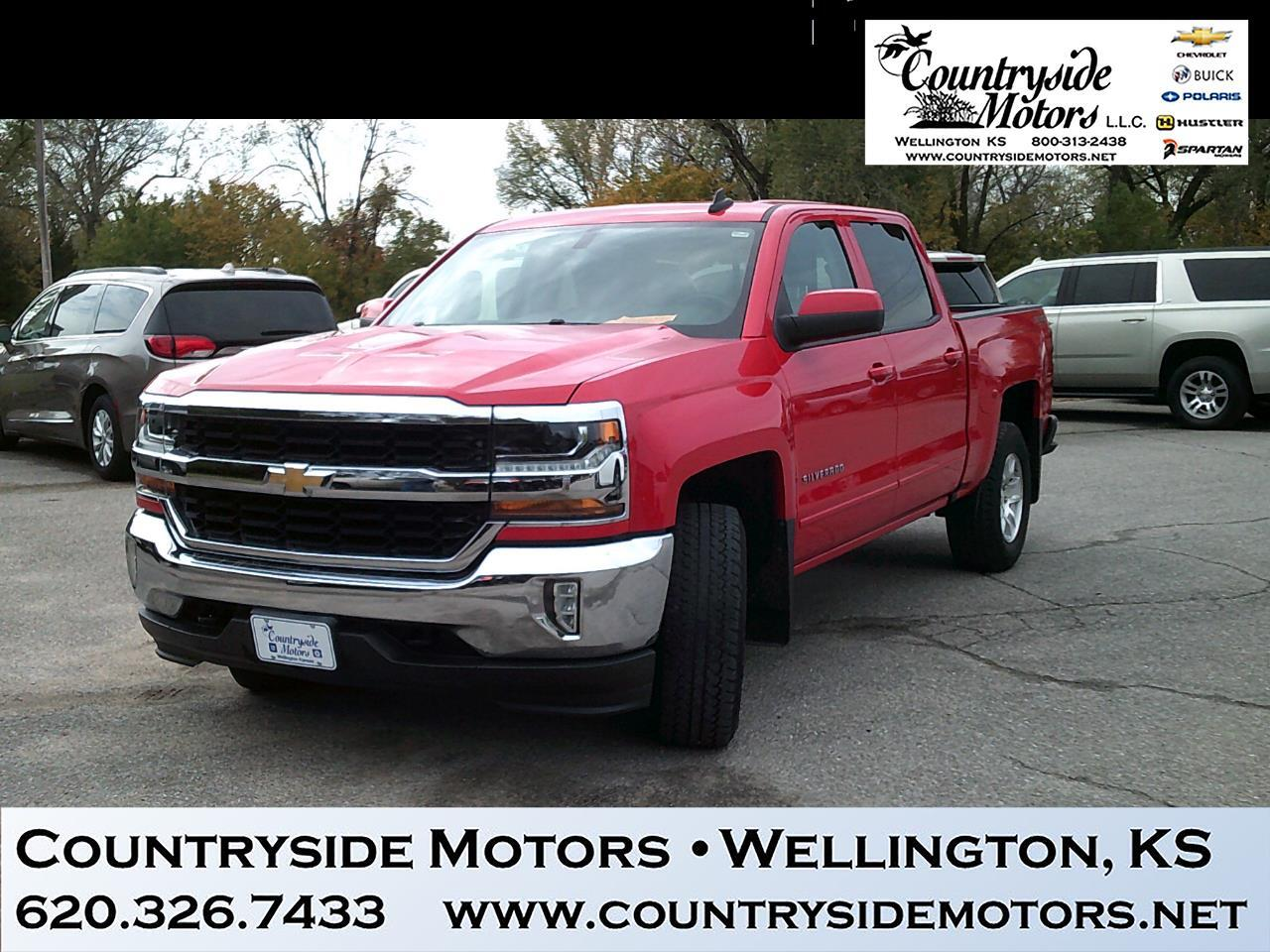 2016 Chevrolet SILVERADO 4WD CREW CAB LT ALL STAR