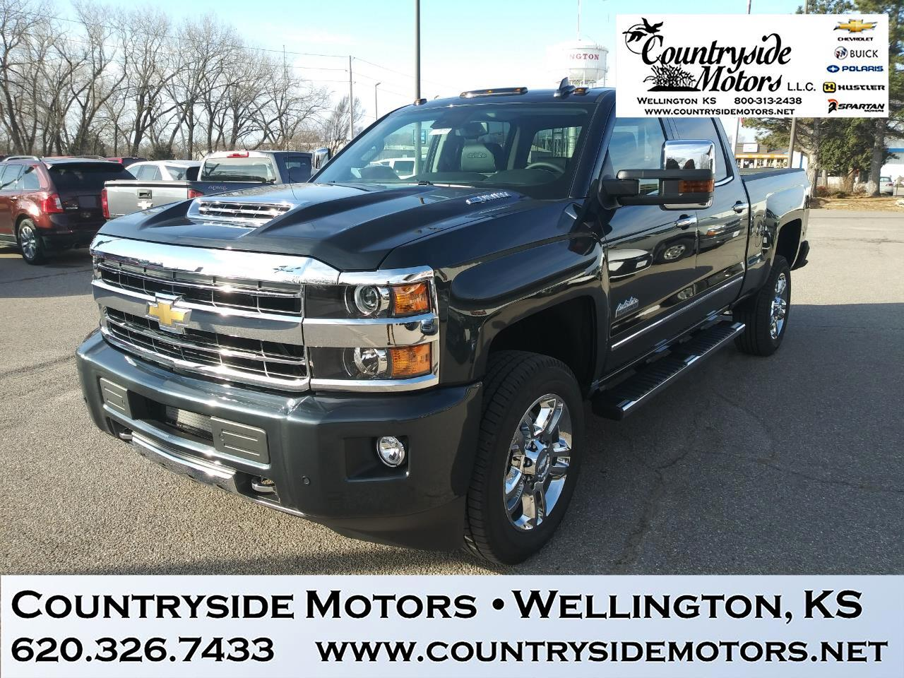 2019 Chevrolet Silverado 2500HD 4WD Crew Cab High Country Edition