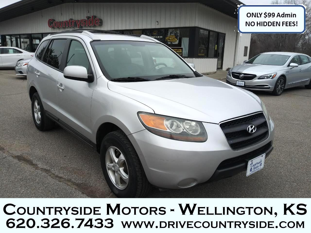 Used 2007 Hyundai Santa Fe 4dr Gls 2wd Auto 2 7l V6 For Sale In Wellington Ks 67152 Countryside Motors