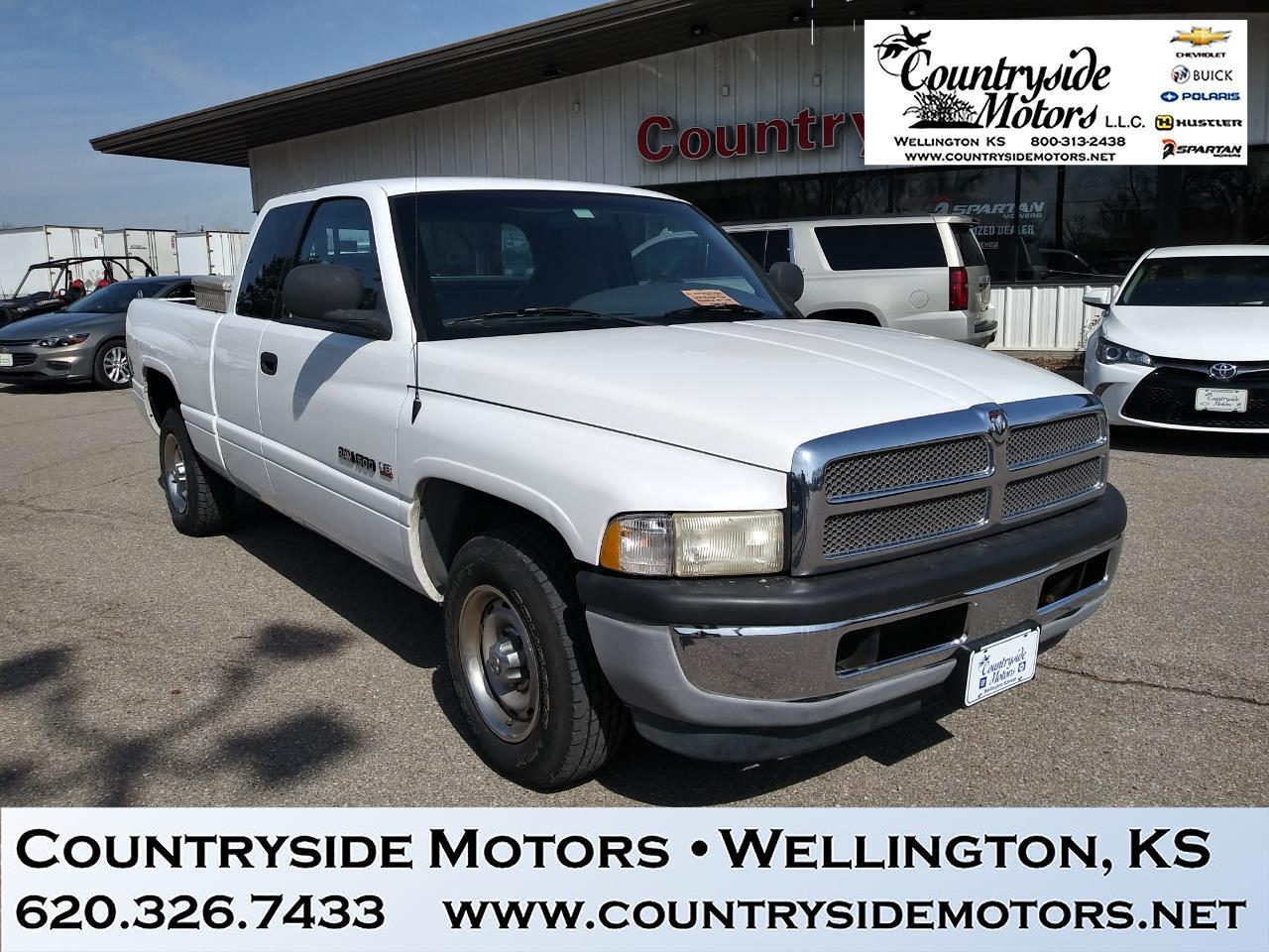 1999 Dodge Ram 1500 2DR CLUB CAB 139  WB