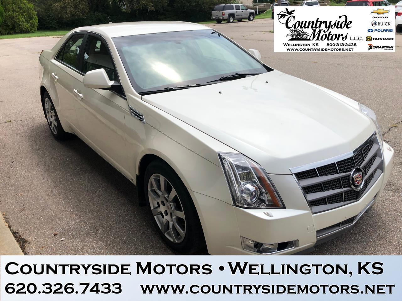 2009 Cadillac CTS Performance Luxury Package