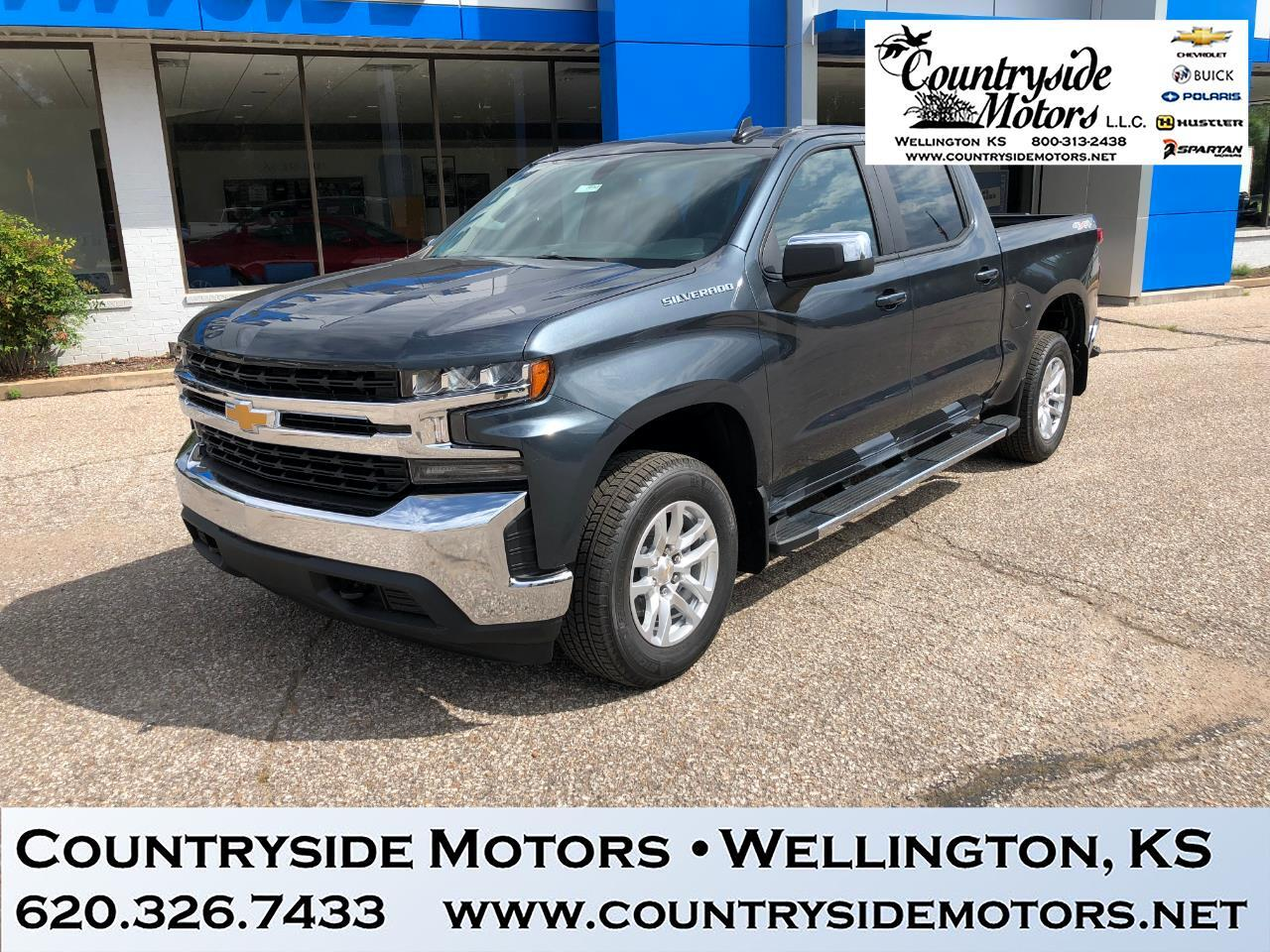 2019 Chevrolet SILVERADO 1500 LT CREW CAB 4x4 ALL STAR EDITION