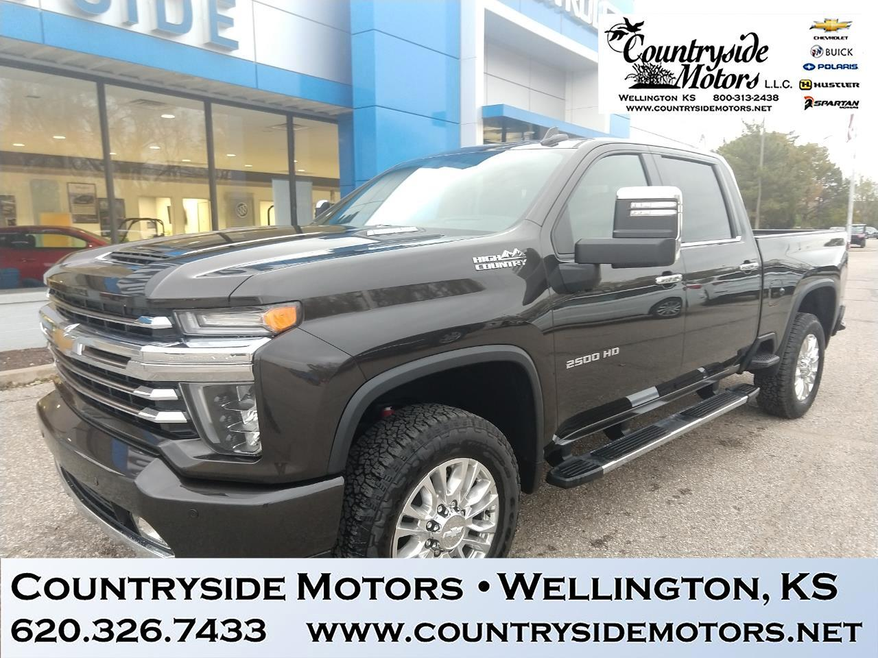 2020 Chevrolet Silverado 2500HD 4WD CREW CAB HIGH COUNTRY PACKAGE