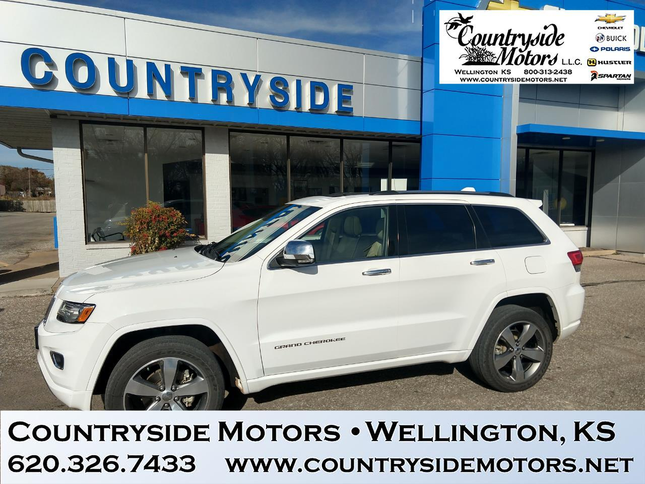 2015 Jeep Grand Cherokee 4WD Overland Edition