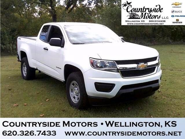 2018 Chevrolet Colorado 4WD WT EXTENDED CAB