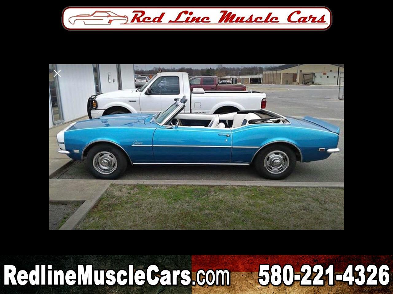 1968 Chevrolet Camaro 2dr Convertible