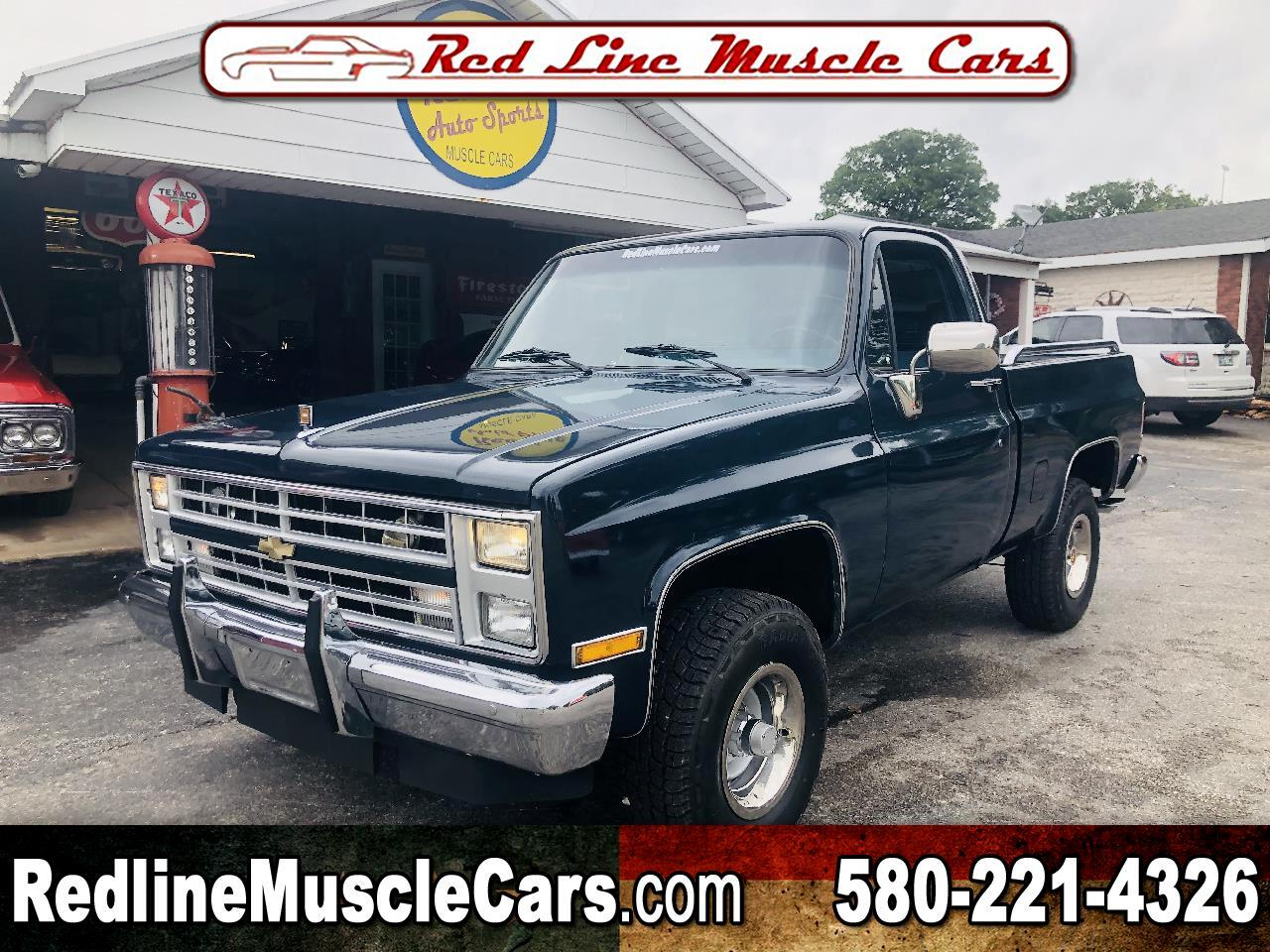 1984 Chevrolet C/K 10 Regular Cab 4WD
