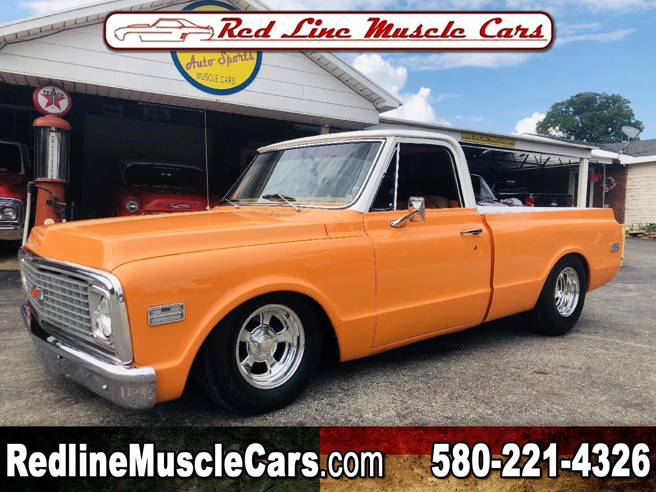 "1972 Chevrolet 1/2 Ton Pickups 115"""