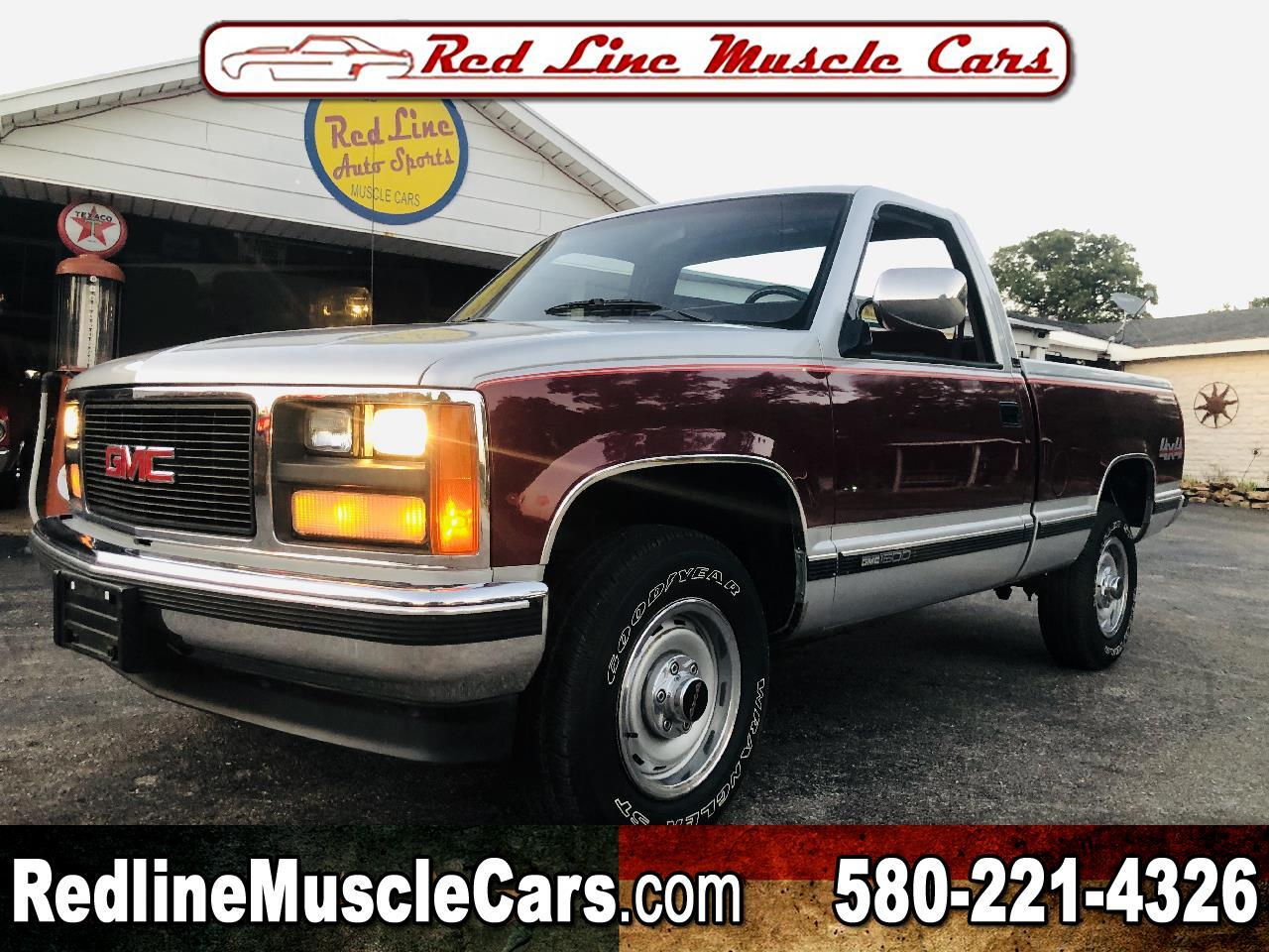 1988 GMC Sierra C/K 1500 Reg. Cab 6.5-ft. Bed 4WD