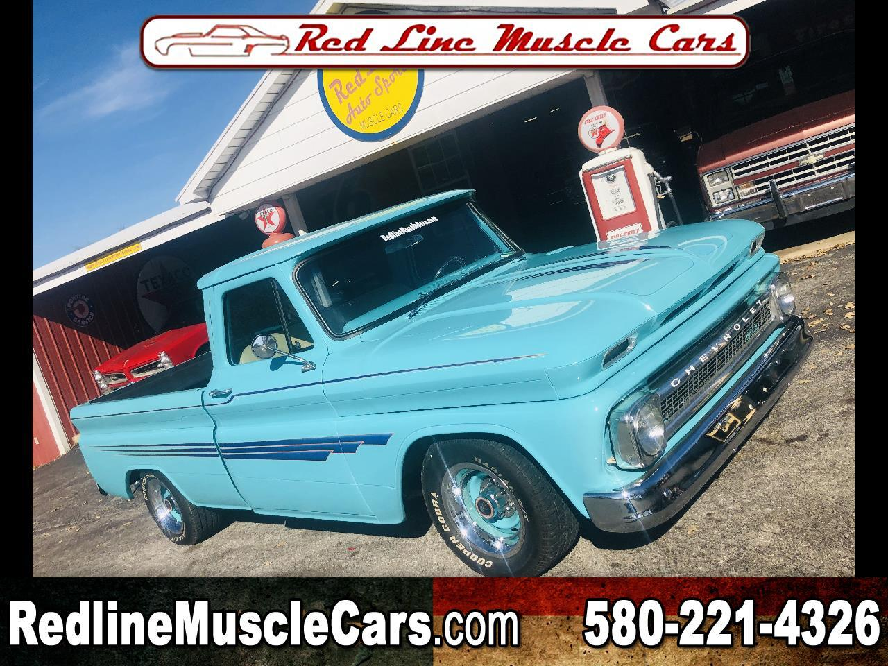 1964 Chevrolet Custom CUSTOM 10 C10 SWB BIG BACK WINDOW