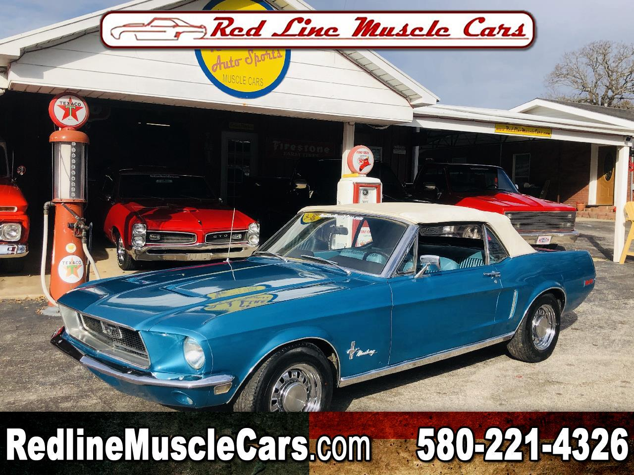 Ford Mustang 2dr Convertible 1968