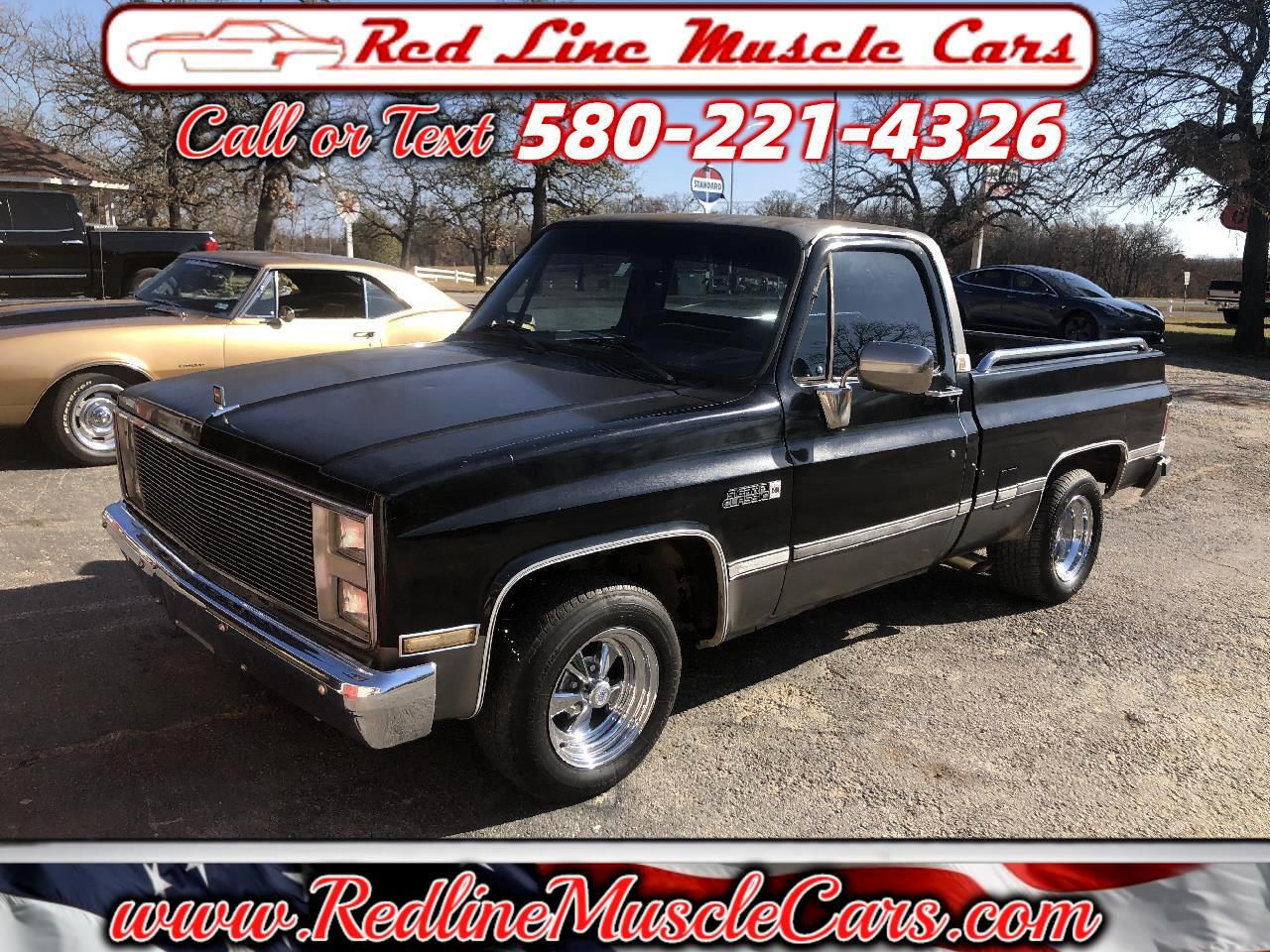 GMC R1500 Regular Cab 2WD 1987