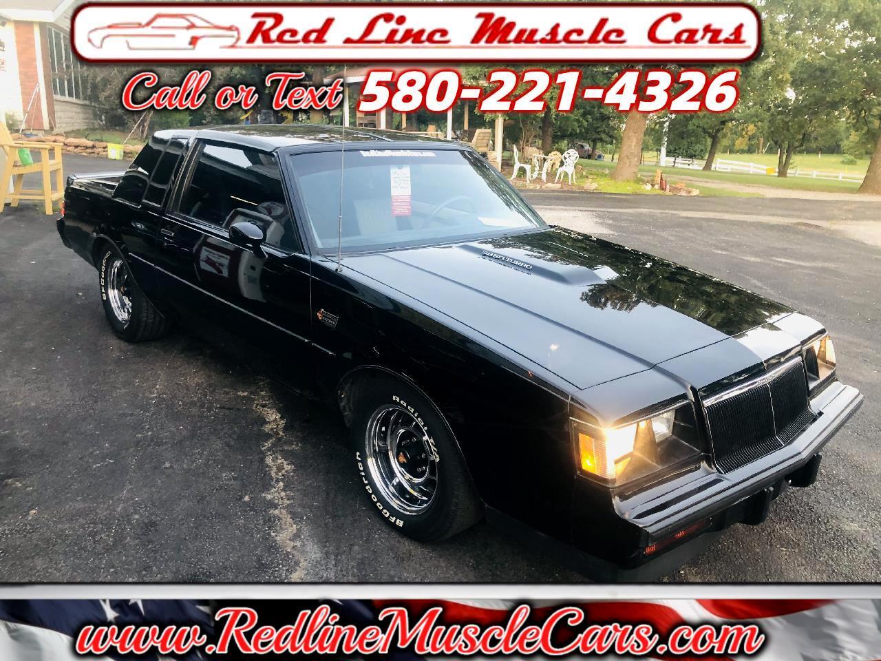 Buick Regal T-Type 1986