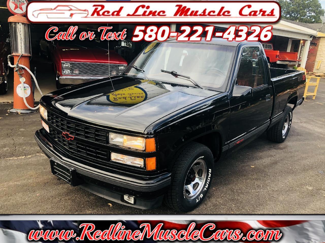 Chevrolet C/K 1500 Reg. Cab W/T 8-ft. bed 2WD 1990