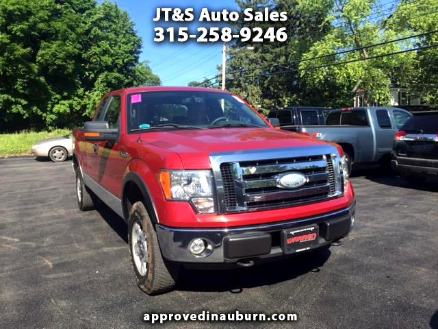 2009 Ford F-150 4WD SuperCab 133