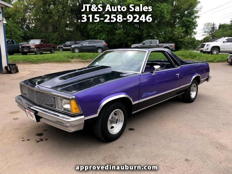 1981 Chevrolet El Camino Regular Cab 2WD