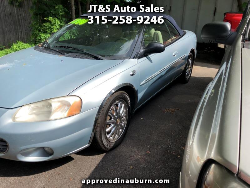 2001 Chrysler Sebring Limited Convertible