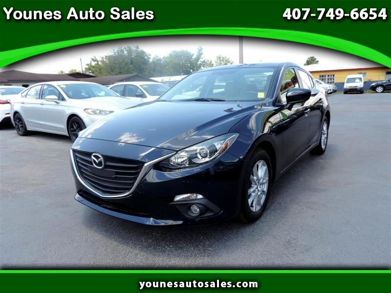 Mazda MAZDA3 I Grand Touring MT 4-Door 2016