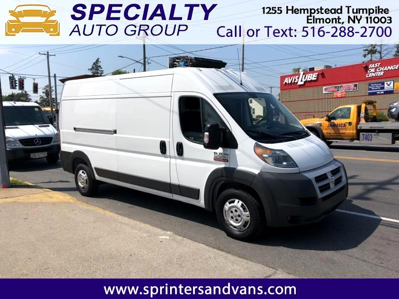 2014 RAM Promaster 3500 High Roof Tradesman 159-in. WB Refrigerated