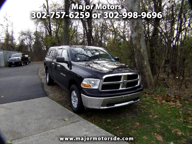 2011 Dodge 1500 4WD Quad Cab 140.5
