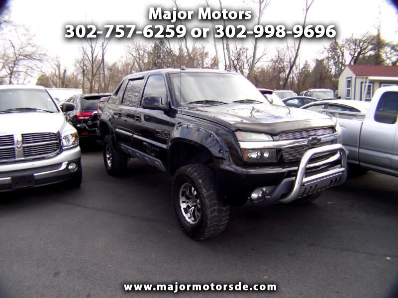 """2004 Chevrolet Avalanche 1500 5dr Crew Cab 130"""" WB 4WD Z71"""