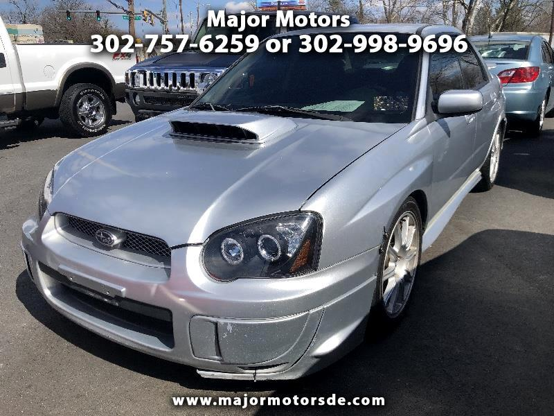 2005 Subaru Impreza Sedan (Natl) 2.5 WRX STi w/Silver Wheels