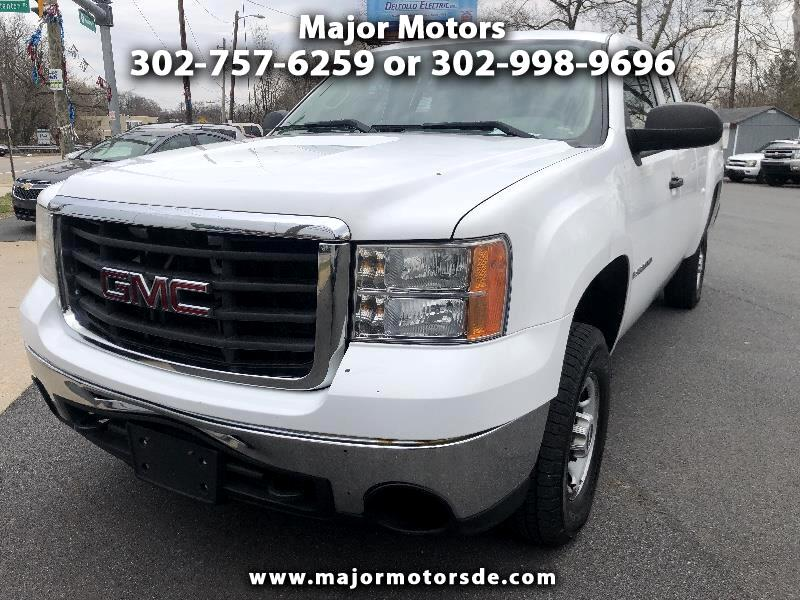 "2008 GMC Sierra 2500HD 4WD Ext Cab 143.5"" Work Truck"