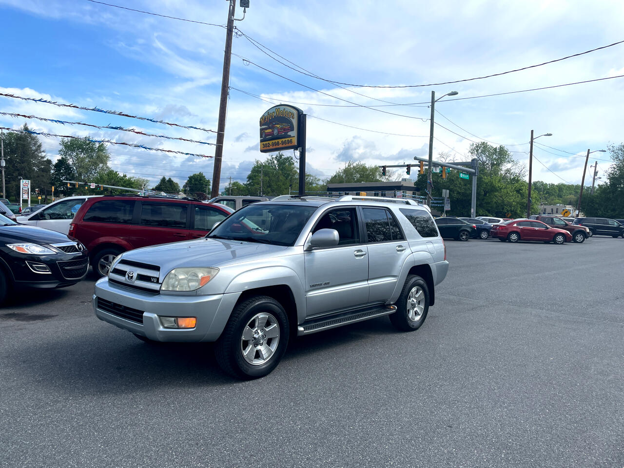 Toyota 4Runner 4dr Limited V8 Auto 4WD (Natl) 2003