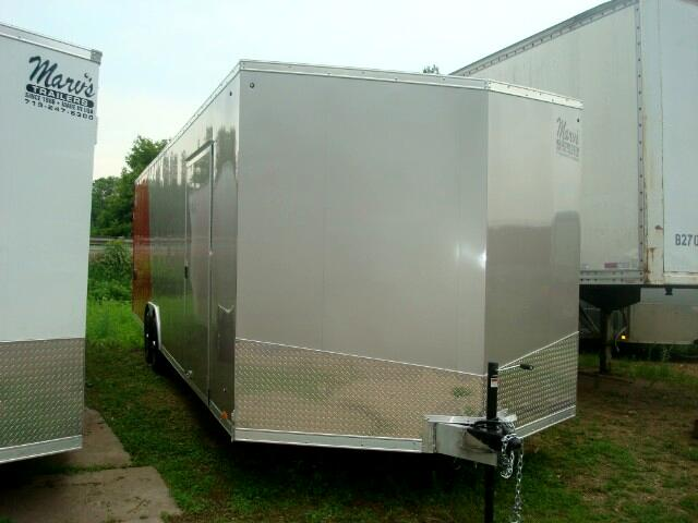 "2019 Pace American Elite 8.5'X28'+30"" V All Aluminum Enclosed Car Hauler"