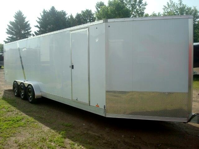 2019 Pace American HighMark 7'X32' All Aluminum Enclosed Trailer