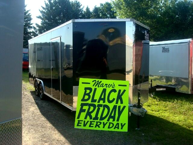 "2019 Pace American Elite 8.5'X20'+30"" V Enclosed All Aluminum Car Hauler"